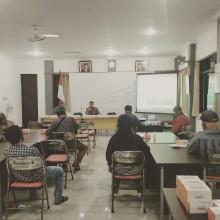 Sosialisasi Pembangunan Sah Jl.Gurami Depan Kantor Kelurahan Sorosutan