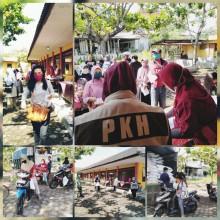 Program Keluarga Harapan (PKH) yang dilaksanakan Bulan Oktober di Kelurahan Sorosutan