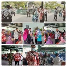 Vaksinasi Massal 600 tokoh masyarakat Sorosutan