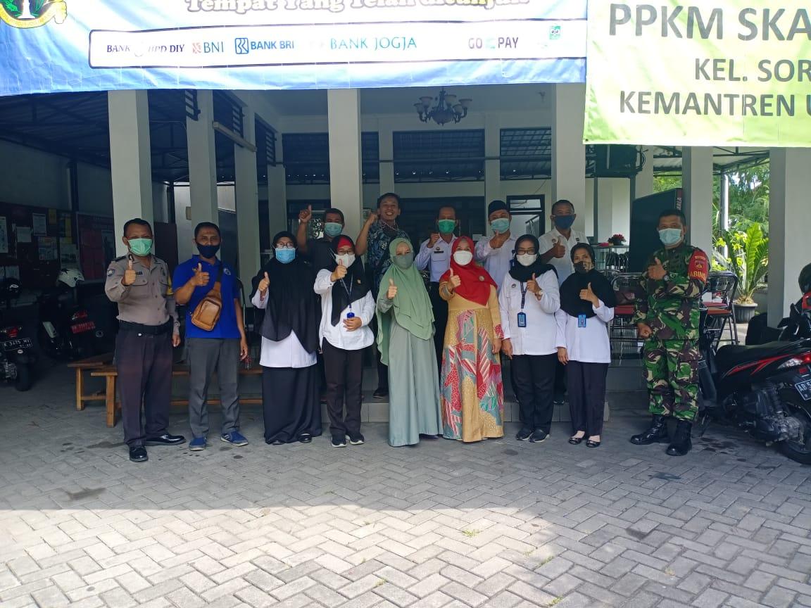 Monitoring dan Evaluasi Kadarkum Kelurahan Sorosutan