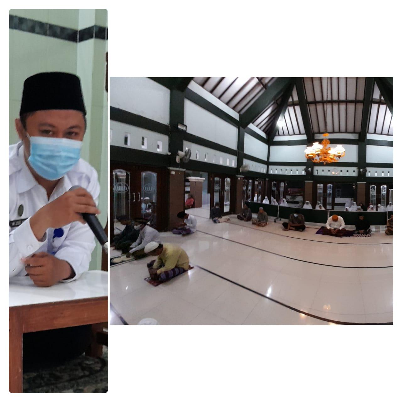 Himbauan Vaksinasi bagi Lansia di Kelurahan Sorosutan