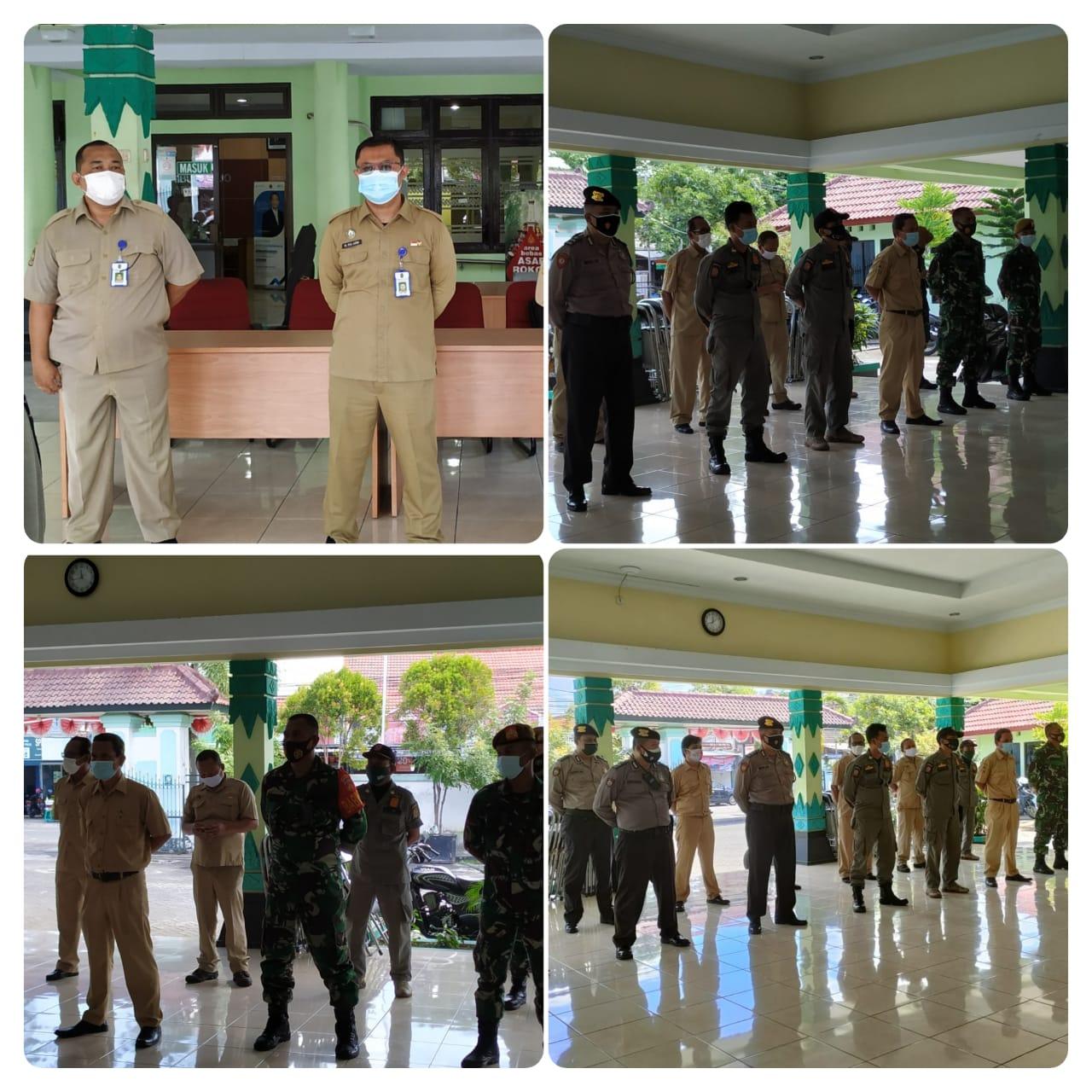 Kelurahan Sorosutan Berpartisipasi Dalam Kegiatan Sosialisasi dan Edukasi PPKM Darurat