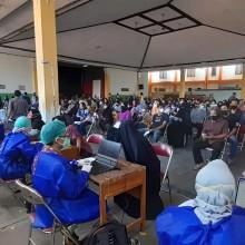 997 Warga Berhasil divaksin, Antusiasme Warga dalam Pelaksanaan Vaksinasi di Wilayah Kelurahan Sorosutan Cukup Tinggi